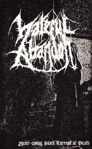 Hateful Abandon - Never-Ending Black Torrent Of Death Cassette