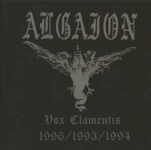 Algaion - Vox Clamentis 1996/1993/1994 CD