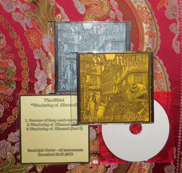 Y'ha-nthlei - Wandering Of Alhazred DEMO CDR