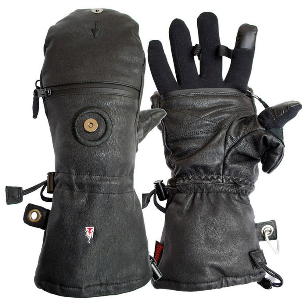 The Heat Company Heat 3 Smart - Full Leather - Medium (Handskar) från The Heat Company. | Fältbutiken - Utrustning för polis och militär och outdoor.