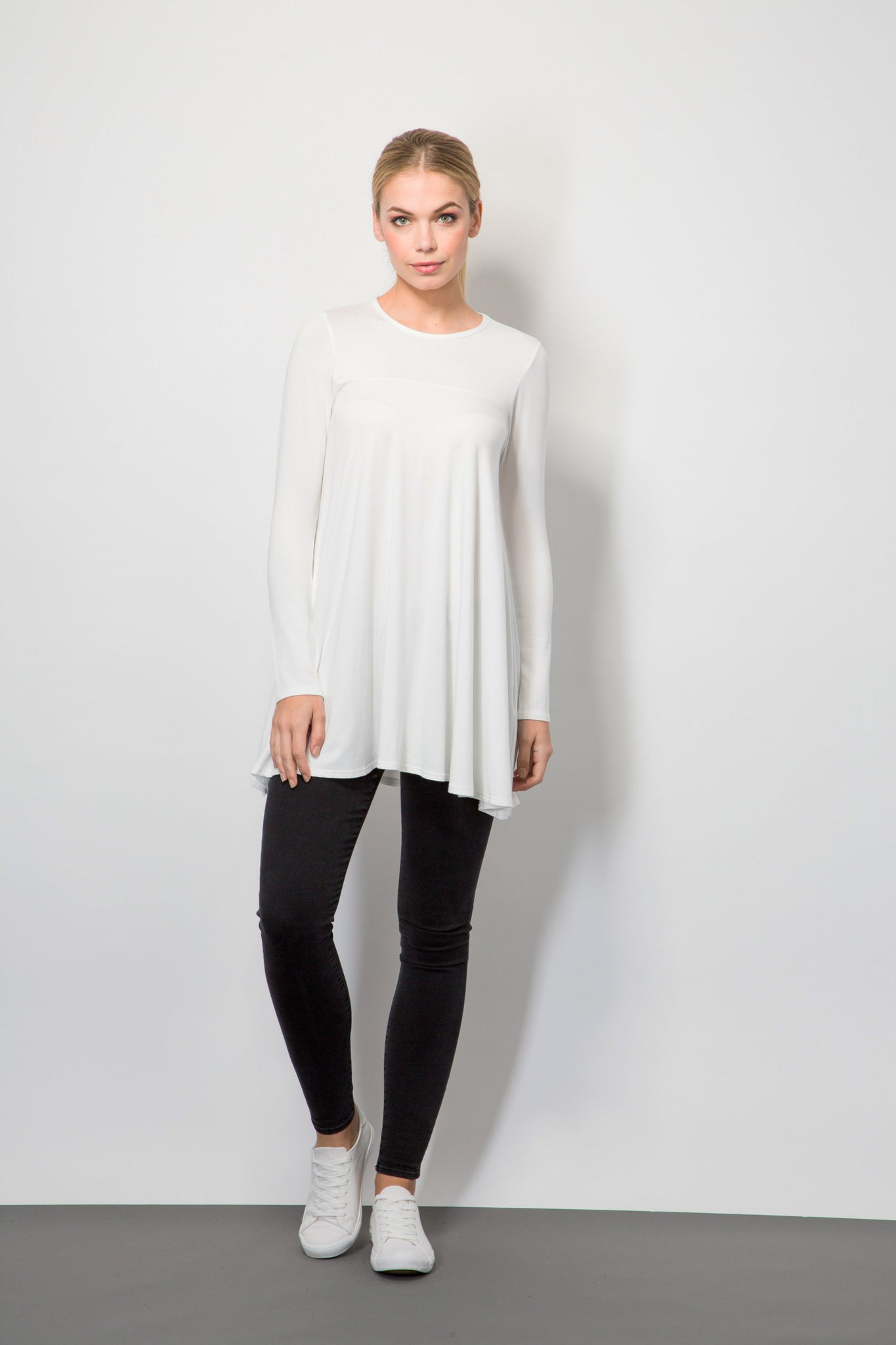 Long Sleeve Jersey Top-Tops-BeBlush
