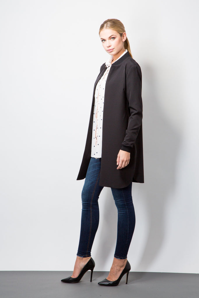 Smart Bomber Jacket-Jackets-BeBlush