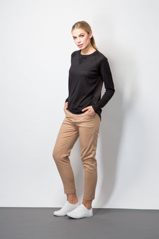 Smart Chino Trousers-Trousers-BeBlush