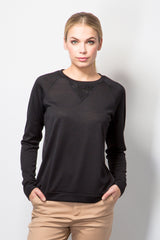 Sweater With Back Detail-Tops-BeBlush