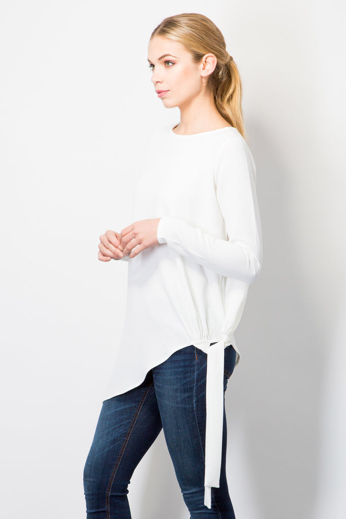 Tie Side Top-Tops-BeBlush