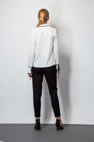 Twill Peg Trousers