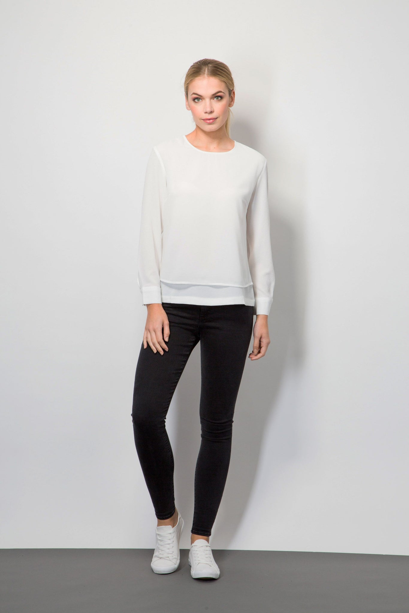 Woven Layered Top-Tops-BeBlush