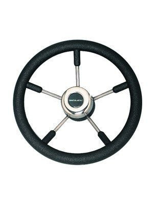ULTRAFLEX V57B 5 SPOKE NON MAGNETIC STAINLESS STEEL STEERING WHEEL