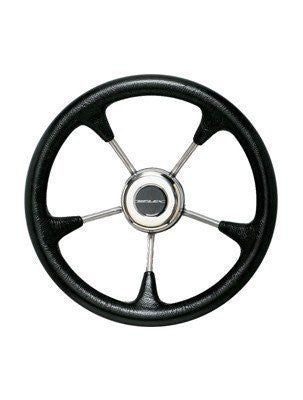 ULTRAFLEX V52B 5 SPOKE NON MAGNETIC STAINLESS STEEL STEERING WHEEL