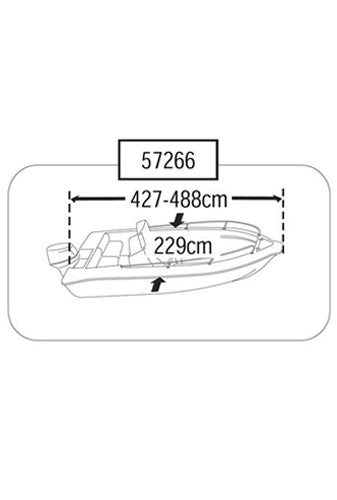 BOAT COVER (SIZE 2)