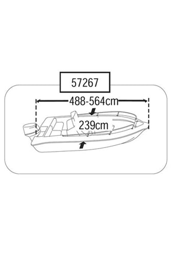BOAT COVER (SIZE 3)