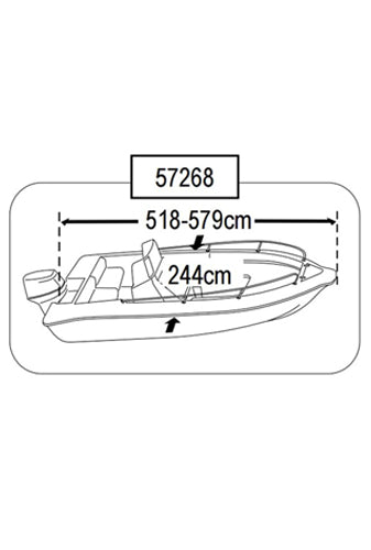 BOAT COVER (SIZE 4)
