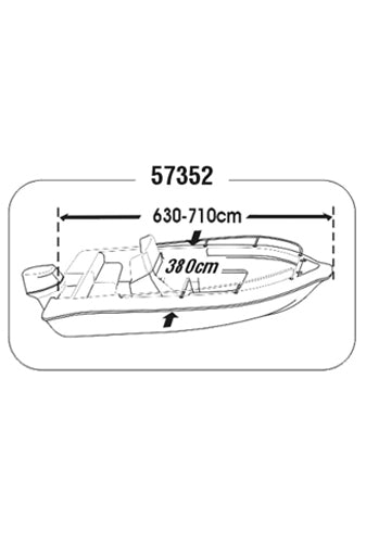 BOAT COVER  (SIZE 7)