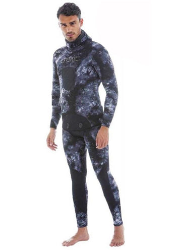 SEAC GIACCA MURENA GREY JACKET AND PANT 3.5MM  MAN WETSUIT