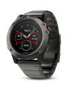 Garmin Fenix 5X Sapphire Multisport GPS Watch Metal band
