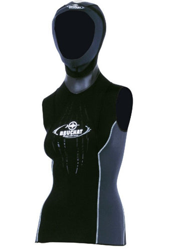 Focea Lady Vest with Hood 2.5MM