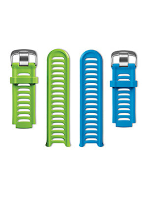 Forerunner 910XT Bands Green and Blue