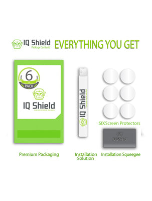 IQ SHIELD VIVOACTIVE 3 SCREEN PROTECTOR (6-PACK)