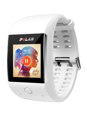 Polar M600 is a waterproof sports smartwatch, with 6-LED wrist-based heart rate