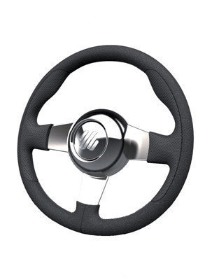 ULTRAFLEX MANIN B/P 3 SPOKES STAINLESS STEEL STEERING WHEEL