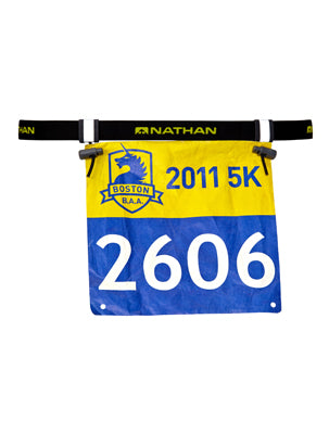 Nathan Race Number Belt 2.0 Black