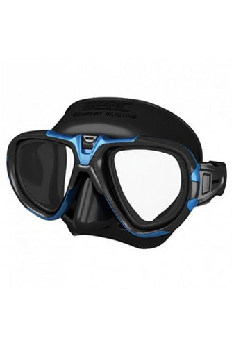 SEAC FOX S/BL METAL BLUE MASK