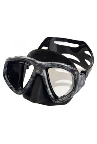 SEAC ONE S/BL CAMO GREY MASK