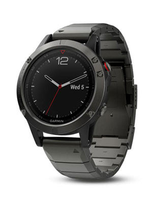 Fenix 5 Slate Gray Sapphire with Metal Band