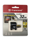 Transcend 32GB High Endurance microSDHC Memory Card