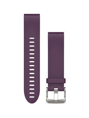 Fenix 5S QuickFit™ 20mm Watch Bands (Amethyst Purple Silicone)