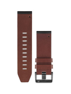 Fenix 5X QuickFit™ 26mm Leather Watch Band