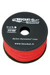 BEUCHAT NYLON DYNEEMA 1.5MM RED LINE ROLL 50M - 200KG