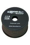 BEUCHAT POLYESTER 2MM BLACK LINE ROLL 50M
