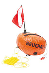 BEUCHAT ROUND DOUBLE BAG BUOY WITH FLAG
