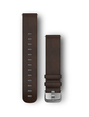 Vivoactive 3 / Vivomove HR Quick Release Leather Band