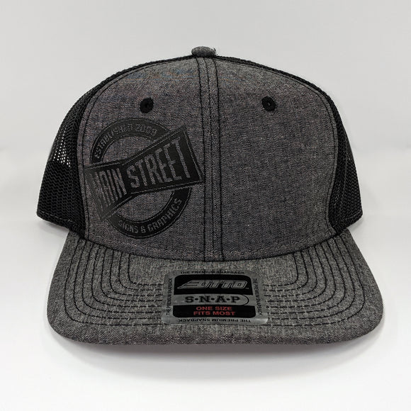 Main Street Mesh Circle Logo Hat