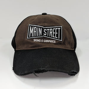 Signature Brown MS Bow-Tie Hat