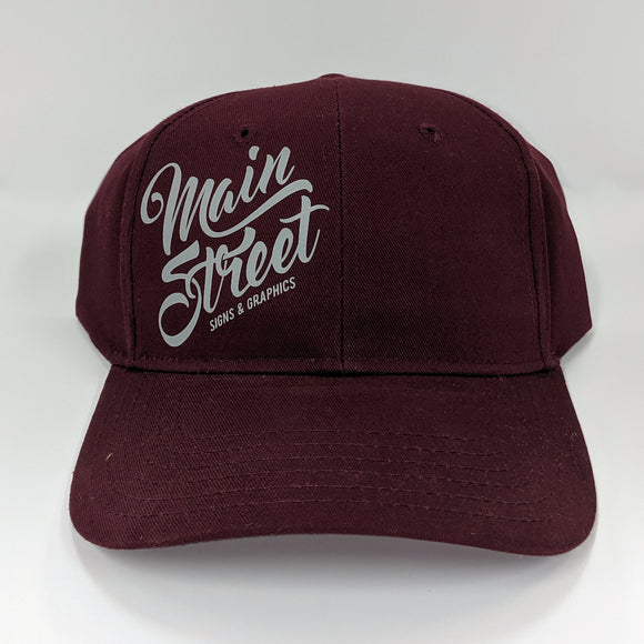 Full Back MS Script Logo Hat