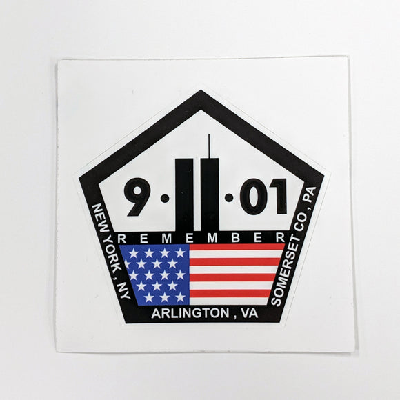 Remember 911 Decal