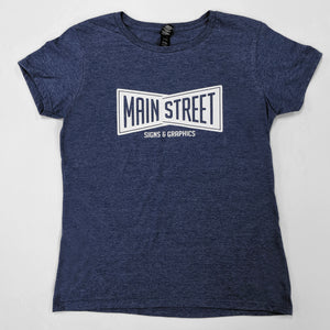Main Street Bow-Tie T-shirt