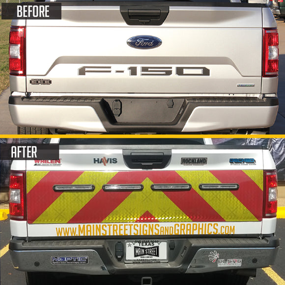 2015 - 2020 F150 Gate Face Tailgate Wrap