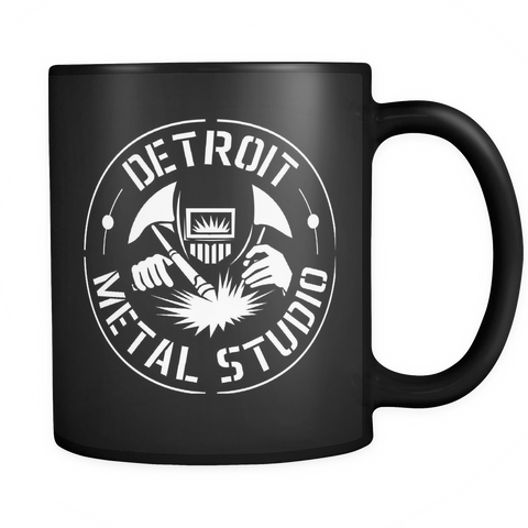 DMS Motor City Black Mug