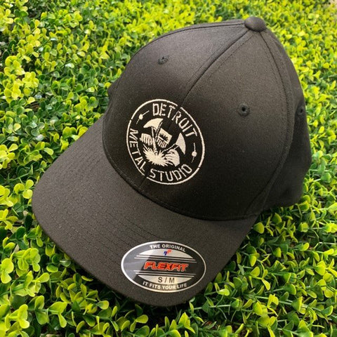 DMS Black Flexfit Hat