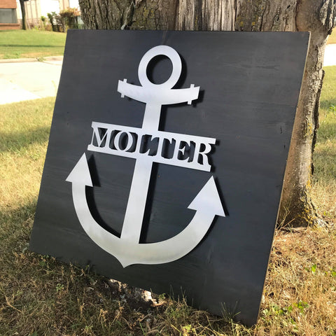 Custom Anchor Monogram