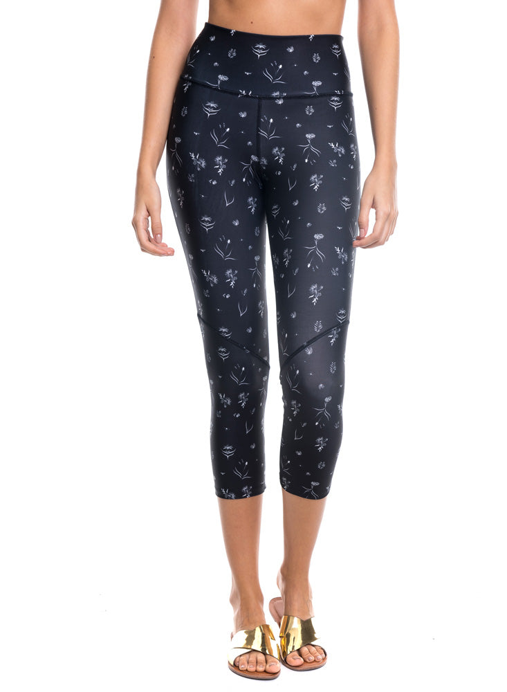 Leggings Estampado Negro