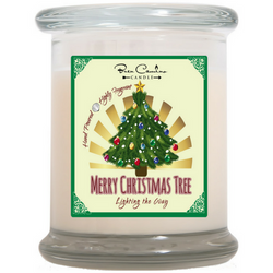Merry Christmas Tree | Medium Signature Glass (12oz)