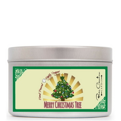 Merry Christmas Tree | Medium Signature Tin (8oz)