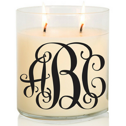 Ocean Breeze | Monogram Candle (16oz)