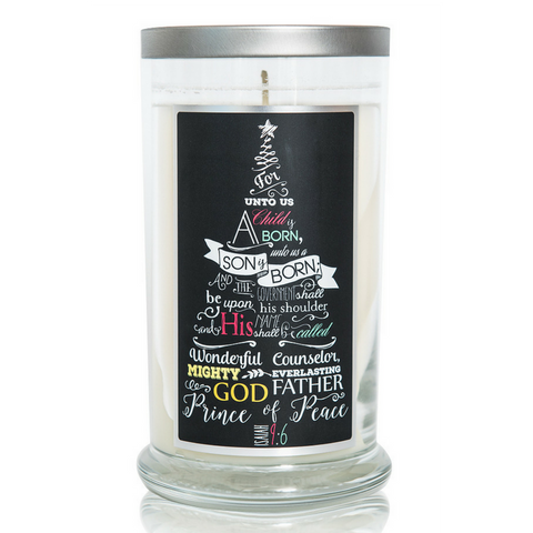 Compassion Candle - Isaiah 9:6 (16oz)