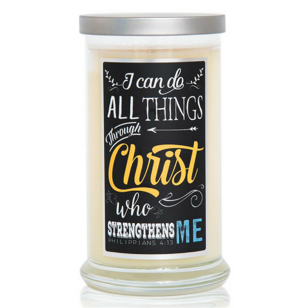 Compassion Candle - Philippians 4:13 (16oz)